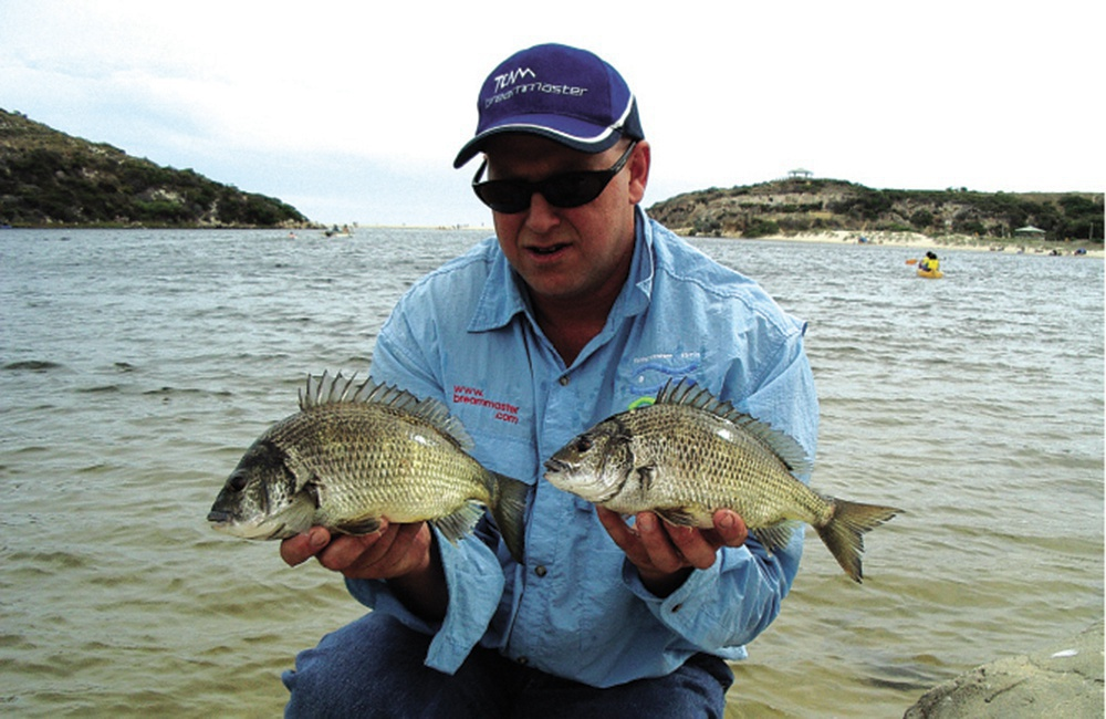 Moore River flats bream
