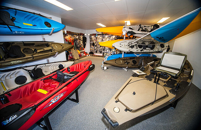 Kayak display