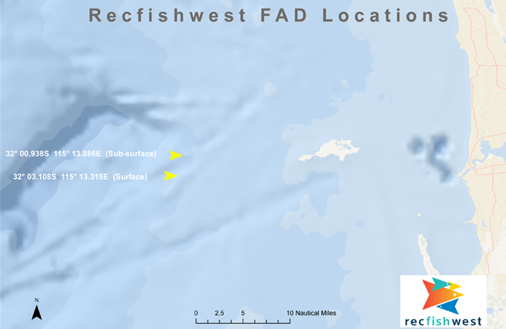 Recfishwest-FADS-Map