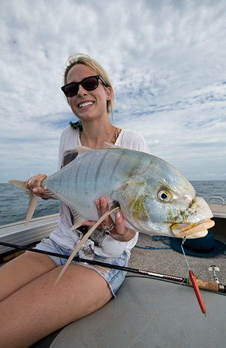 Golden Trevally Pilbara