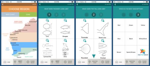 Recfishwest Fishing App Fish ID Screen
