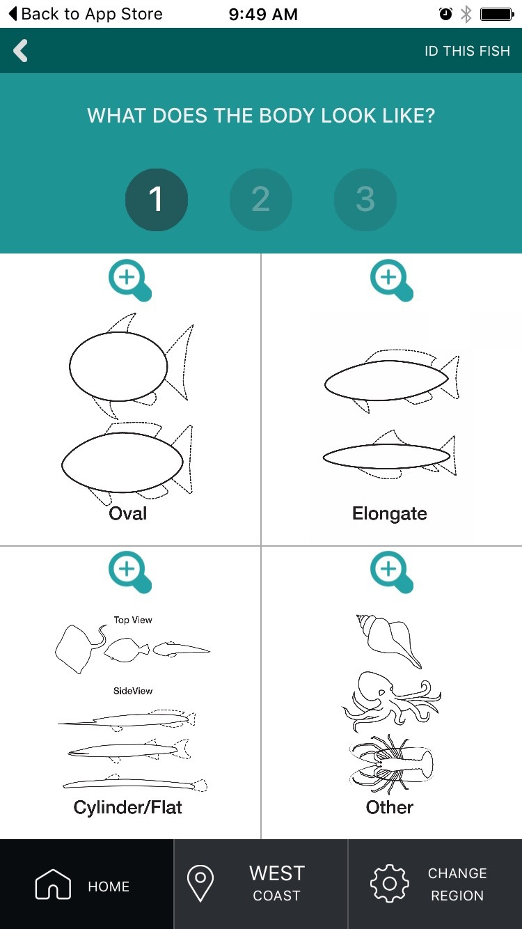 Recfishwest App Screenshot 3
