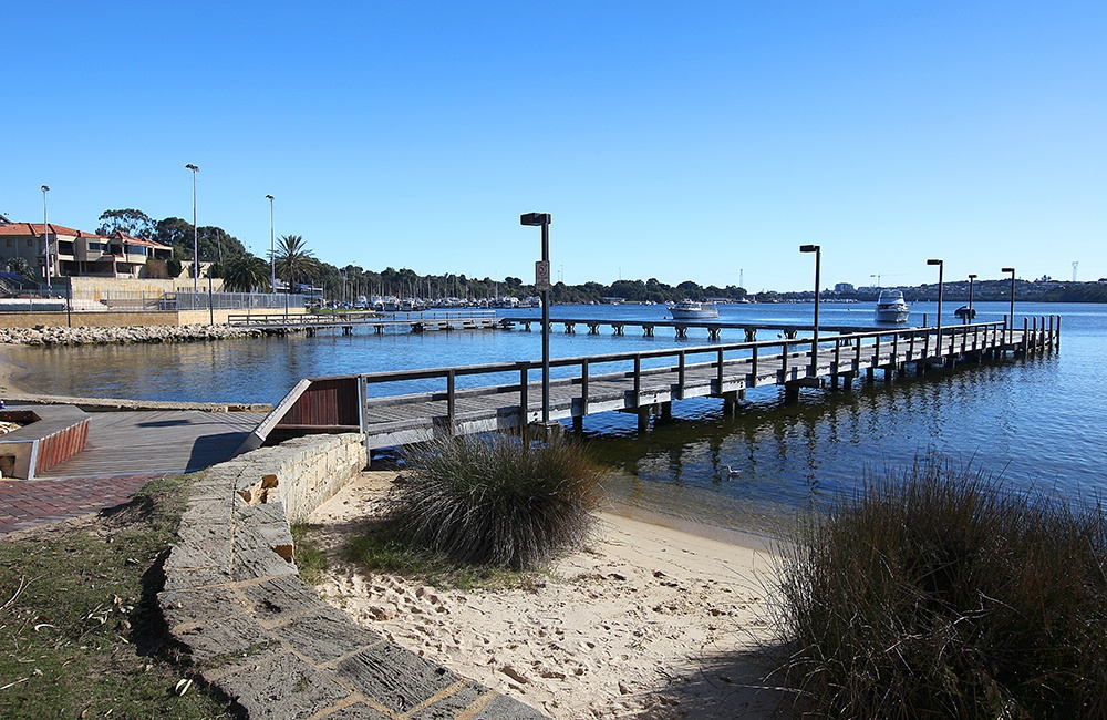 Bicton Baths Jetty