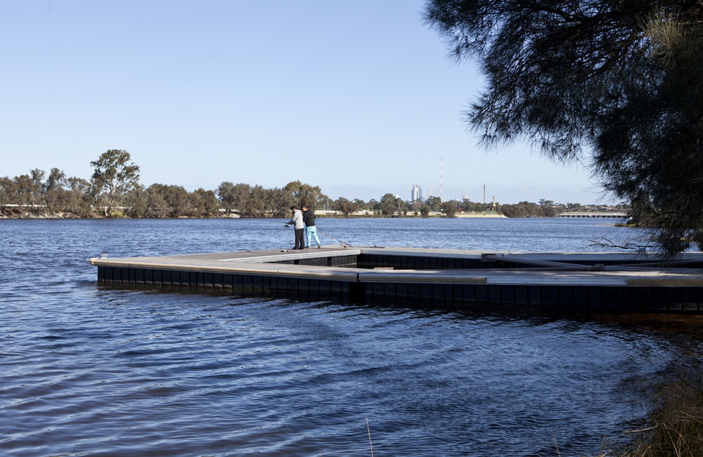 Memorial Drive Boat Ramp Jetty