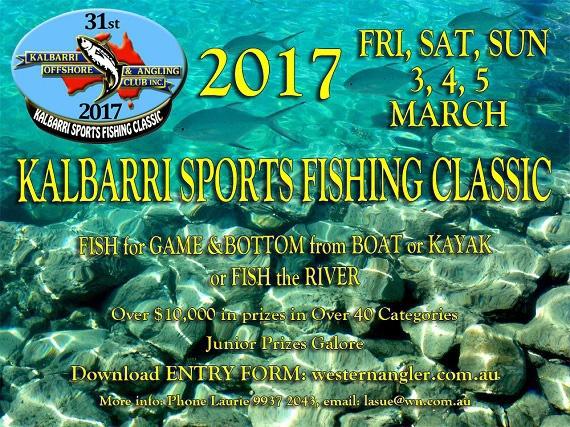 Kalbarri Sportsfishing Classic 2017