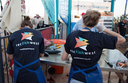 Exmouth Recfishwest volunteers