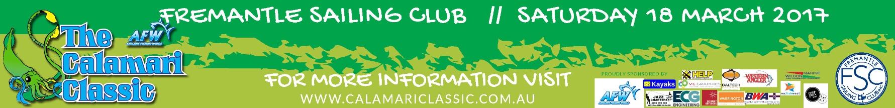Fremantle Sailing Club Calamari Classic 2017 banner ad
