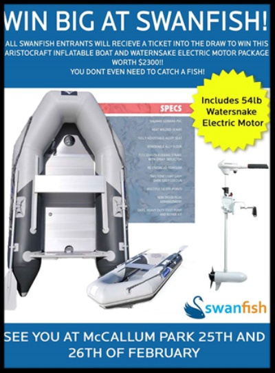 Swanfish 2017 ad