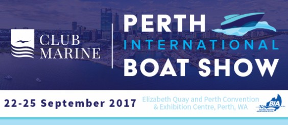 Boat show banner