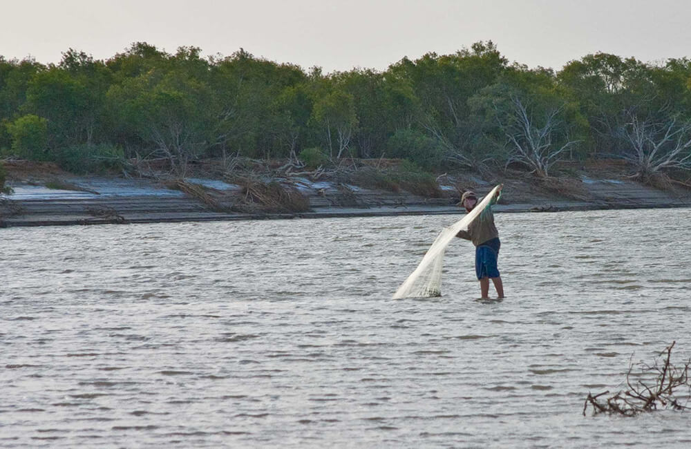 Fitzroy net fishing