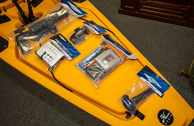Kayak Accessories - Customising your kayak | ilovefishing