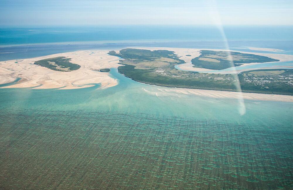 Kuri Bay Aerial shot