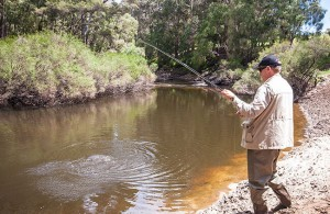 Warren River fly fishing