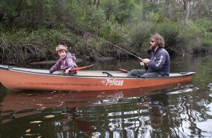 Warren River kayak canoe fishing