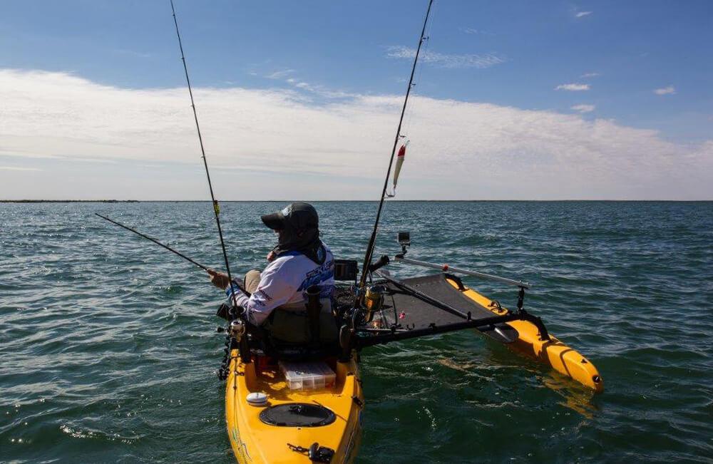 Exmouth Gulf kayak