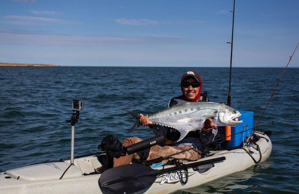Exmouth Gulf kayak queenfish