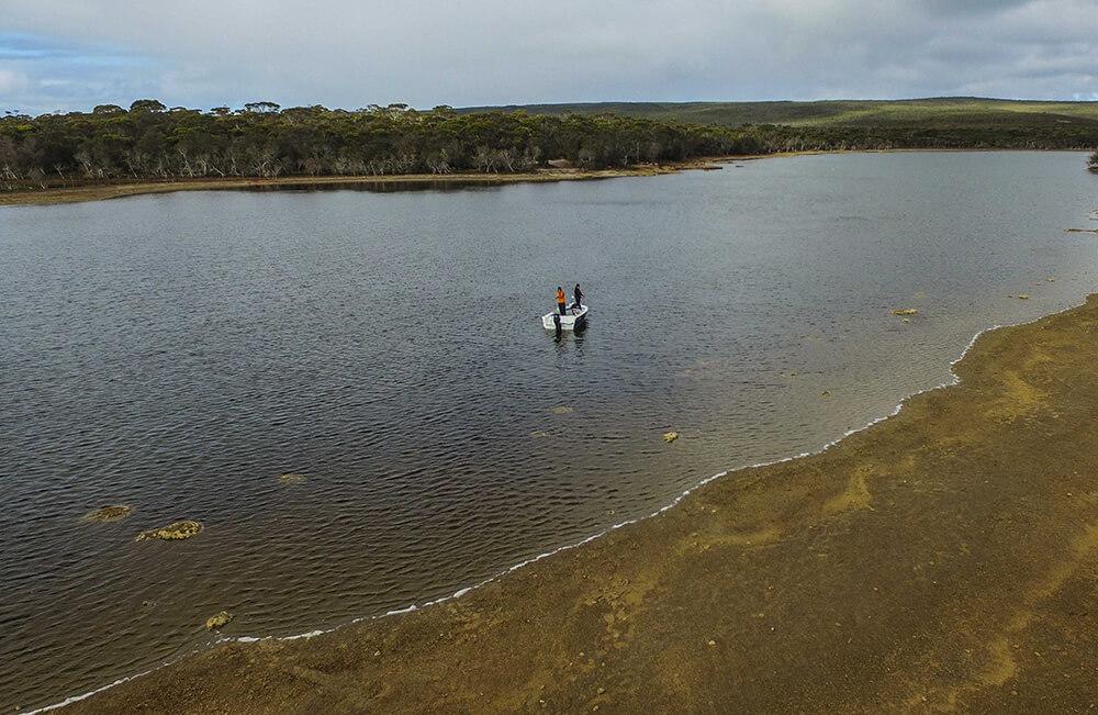 Estuary boating
